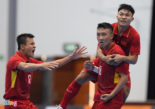 Futsal Viet Nam vs Indonesia anh 4