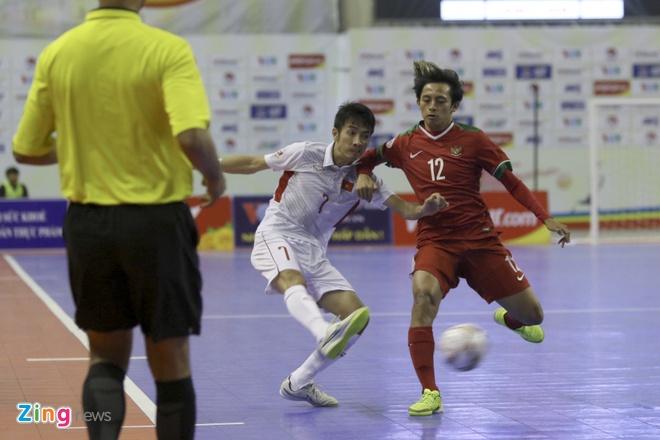 Futsal Viet Nam vs Indonesia anh 11
