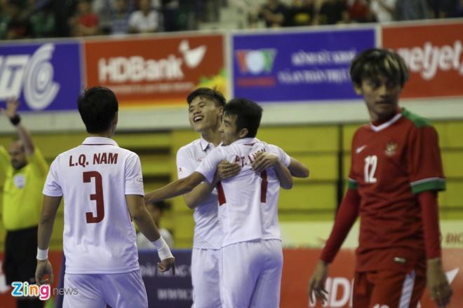 Futsal Viet Nam vs Indonesia anh 12