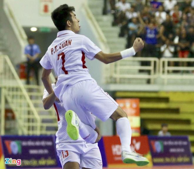 Futsal Viet Nam vs Indonesia anh 1