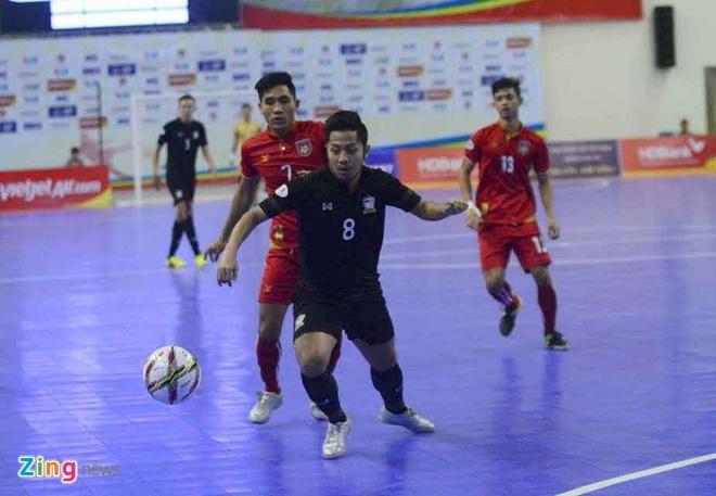 Thai Lan 'huy diet' Myanmar, vao chung ket futsal Dong Nam A hinh anh 9
