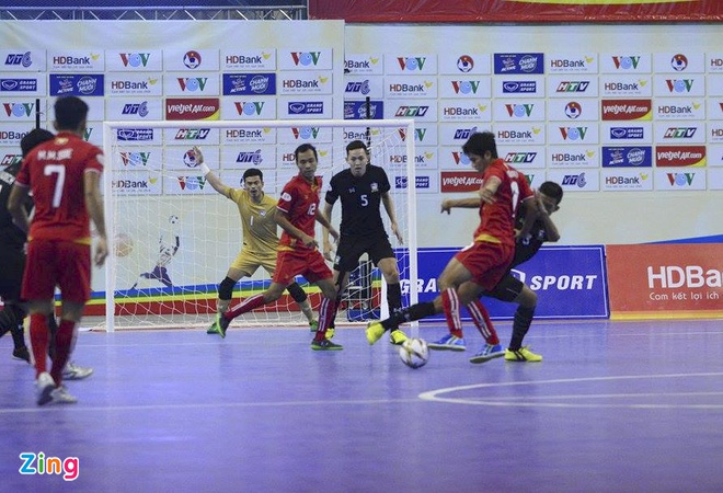 Thai Lan 'huy diet' Myanmar, vao chung ket futsal Dong Nam A hinh anh 10