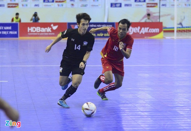 Thai Lan 'huy diet' Myanmar, vao chung ket futsal Dong Nam A hinh anh 11