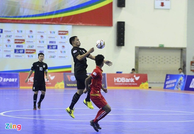 Thai Lan 'huy diet' Myanmar, vao chung ket futsal Dong Nam A hinh anh 12