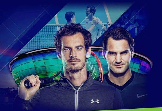 Federer doi dau Murray truoc them ATP World Tour Finals hinh anh 1