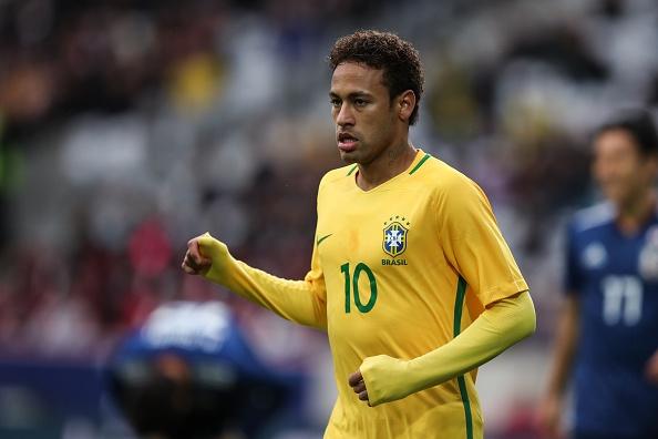 Nhat Ban 1-3 Brazil: Neymar ghi ban va da hong phat den hinh anh