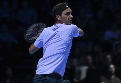 Federer mat diem winner kho tin o tran ra quan ATP Finals hinh anh