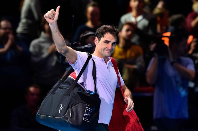 That bai cua Federer o ban ket ATP Finals hinh anh