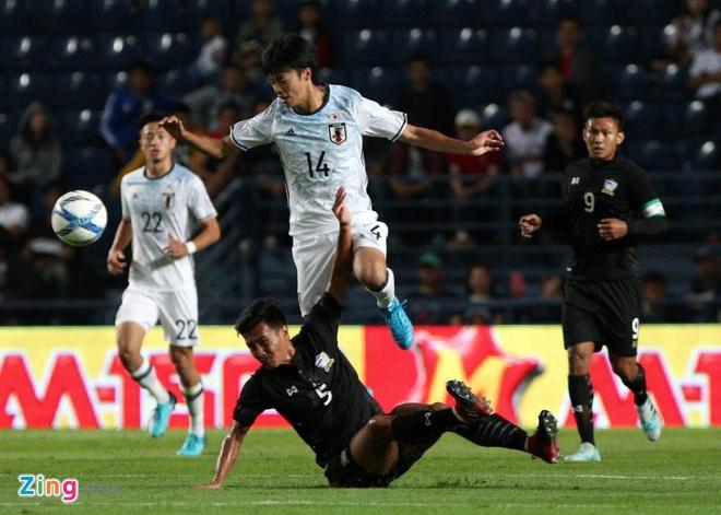 U23 Thai Lan vs U23 Nhat Ban anh 7