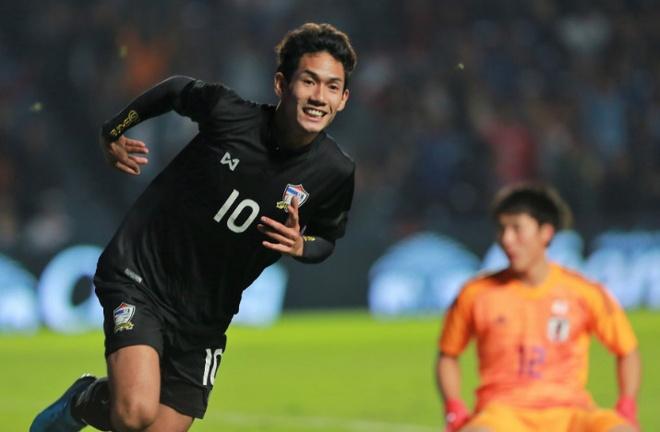 U23 Thai Lan bat ngo danh bai Nhat Ban o tran ra quan hinh anh