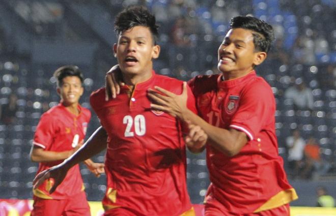 U23 Myanmar 2-2 U23 Uzbekistan: U23 VN mat loi the lon o phut bu gio hinh anh