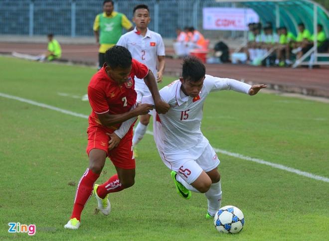 U19 Viet Nam nhan that bai dau tien tai giai U21 Quoc te hinh anh 2
