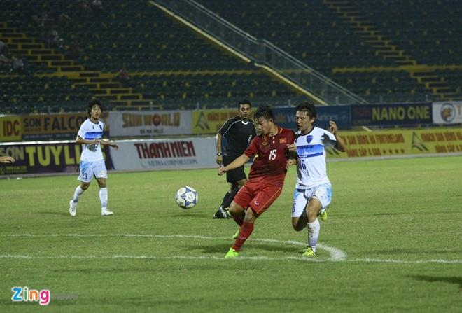 U19 Viet Nam nhan that bai dau tien tai giai U21 Quoc te hinh anh 5