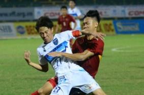 U19 Viet Nam nhan that bai dau tien tai giai U21 Quoc te hinh anh