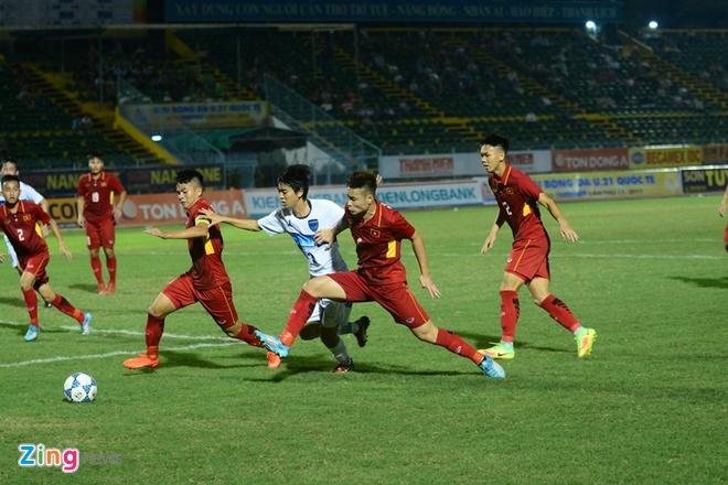 U19 Viet Nam nhan that bai dau tien tai giai U21 Quoc te hinh anh 8