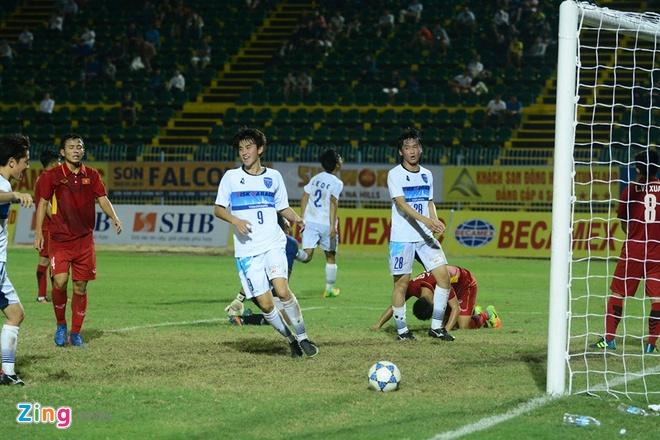 U19 Viet Nam nhan that bai dau tien tai giai U21 Quoc te hinh anh 12