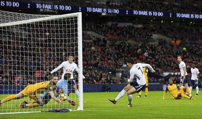 Arsenal tut xuong thu 7, sao Han Quoc ghi ban giup Spurs ha Brighton hinh anh 9