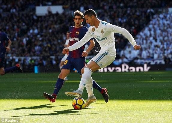 Real Madrid vs Barcelona anh 29