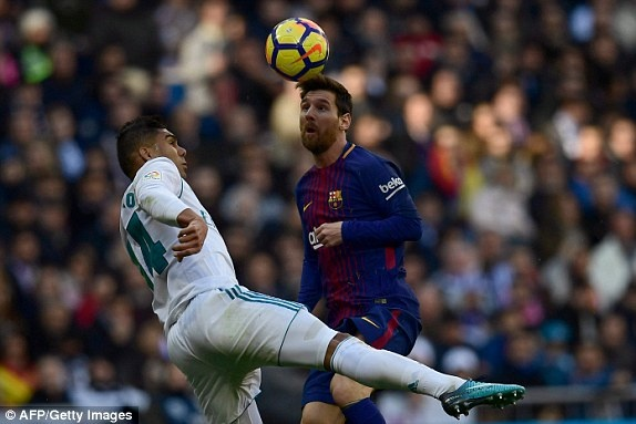Real Madrid vs Barcelona anh 32