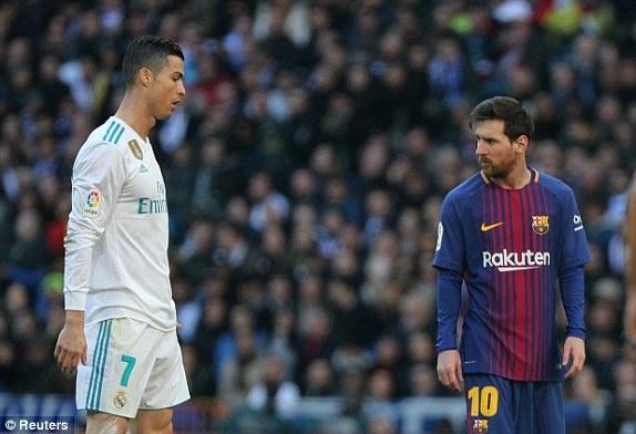 Real Madrid vs Barcelona anh 36