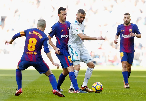 Real Madrid vs Barcelona anh 30