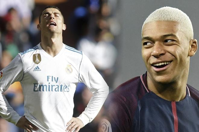 Mbappe: 'Toi da tu bo than tuong Ronaldo' hinh anh