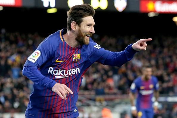 Messi toa sang, Barca thang dam de bo xa Real 17 diem hinh anh 1