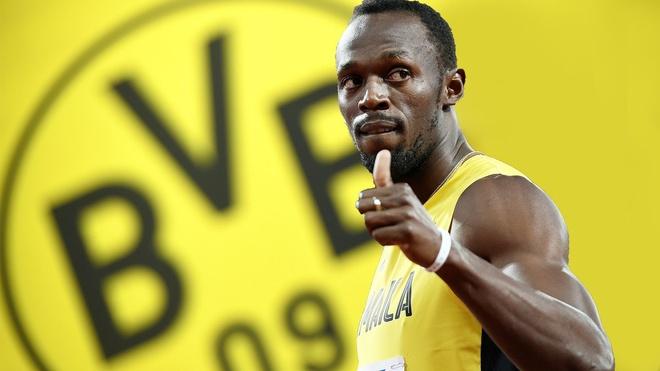 'Tia chop den' Usain Bolt thu viec tai Dortmund hinh anh 1