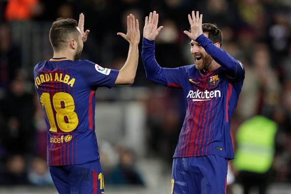 Coutinho chung kien Messi giup Barca vao tu ket cup Nha Vua hinh anh 4
