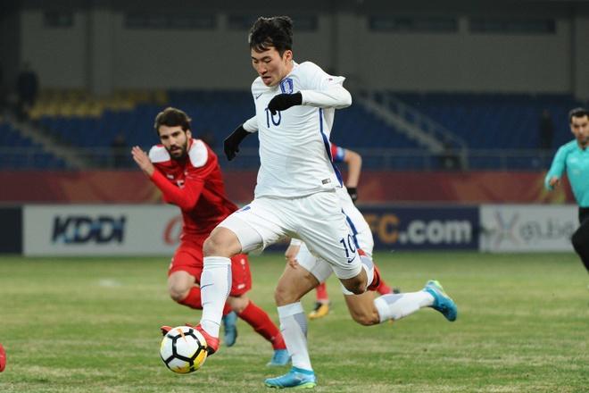 U23 Han Quoc khong the thang Syria, roi san voi 10 nguoi hinh anh 1