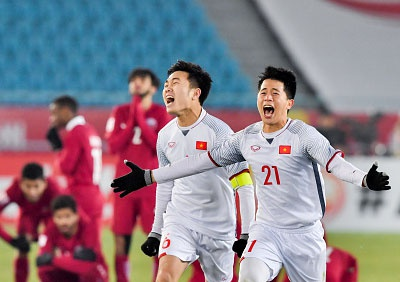U23 Viet Nam - mot the he dot pha hinh anh