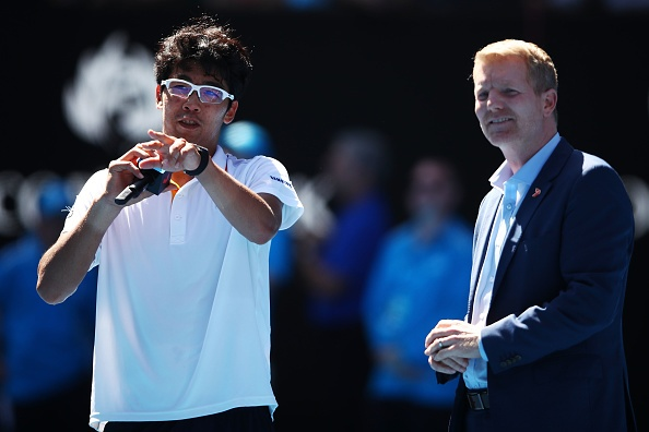 Tay vot Han Quoc lap ky tich vao ban ket Australian Open hinh anh 9