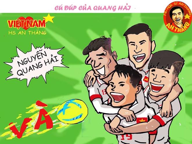 Hi hoa: U23 Viet Nam tao dia chan A chau hinh anh 5