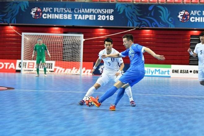 Han Quoc thua 2-13 truoc Uzbekistan o giai futsal chau A hinh anh 4