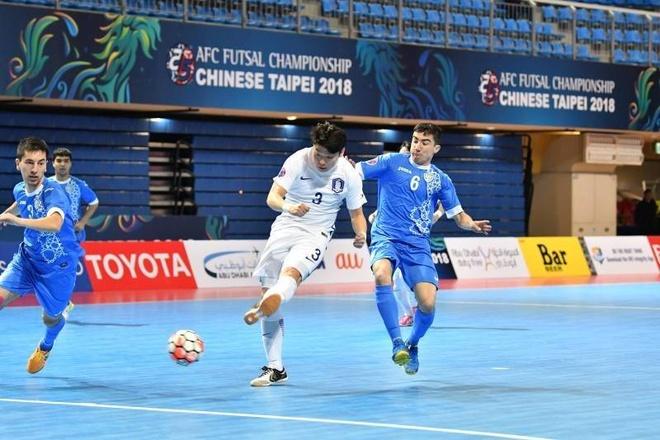 Han Quoc thua 2-13 truoc Uzbekistan o giai futsal chau A hinh anh 7