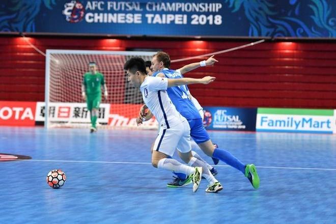 Han Quoc thua 2-13 truoc Uzbekistan o giai futsal chau A hinh anh 1
