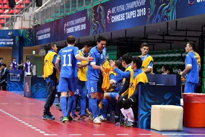 Han Quoc thua 2-13 truoc Uzbekistan o giai futsal chau A hinh anh 6