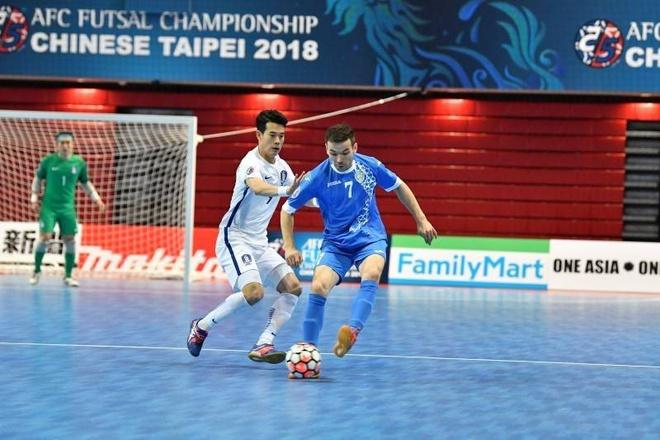 Han Quoc thua 2-13 truoc Uzbekistan o giai futsal chau A hinh anh 3