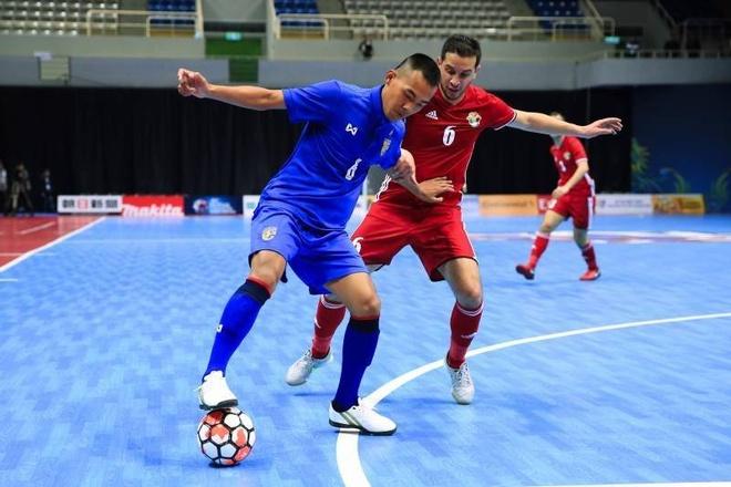 Thai Lan thang dam, Myanmar thua 0-14 o giai futsal chau A hinh anh 2