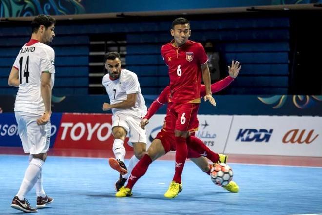 Thai Lan thang dam, Myanmar thua 0-14 o giai futsal chau A hinh anh 7