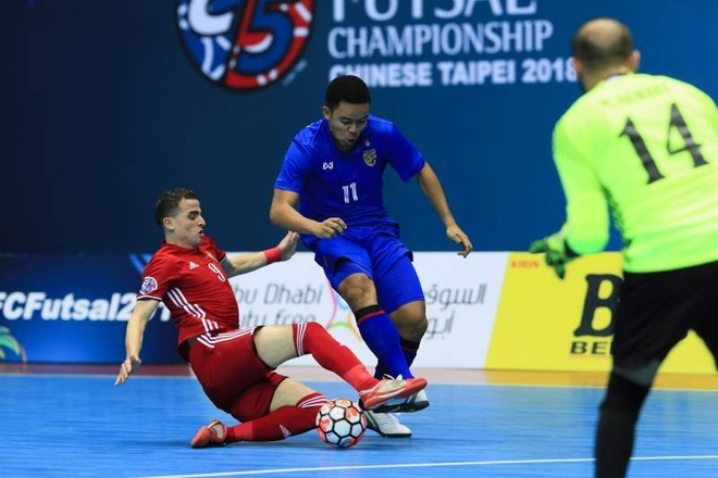 Thai Lan thang dam, Myanmar thua 0-14 o giai futsal chau A hinh anh 3