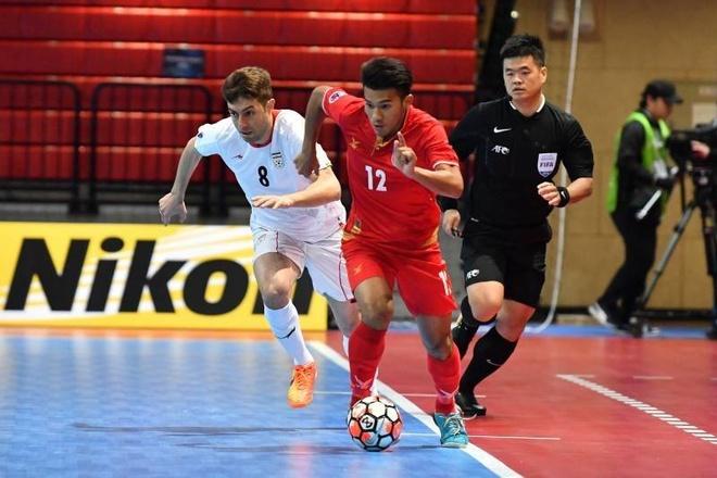 Thai Lan thang dam, Myanmar thua 0-14 o giai futsal chau A hinh anh 9