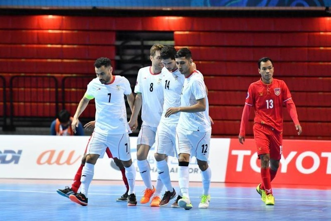 Thai Lan thang dam, Myanmar thua 0-14 o giai futsal chau A hinh anh 10