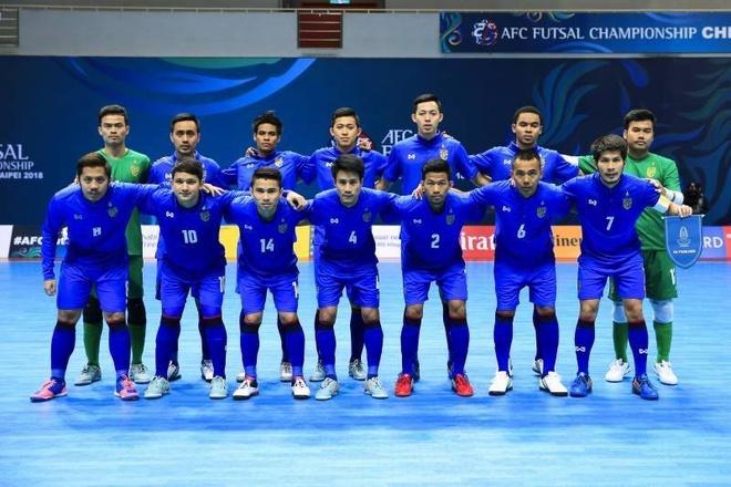 Thai Lan thang dam, Myanmar thua 0-14 o giai futsal chau A hinh anh 1