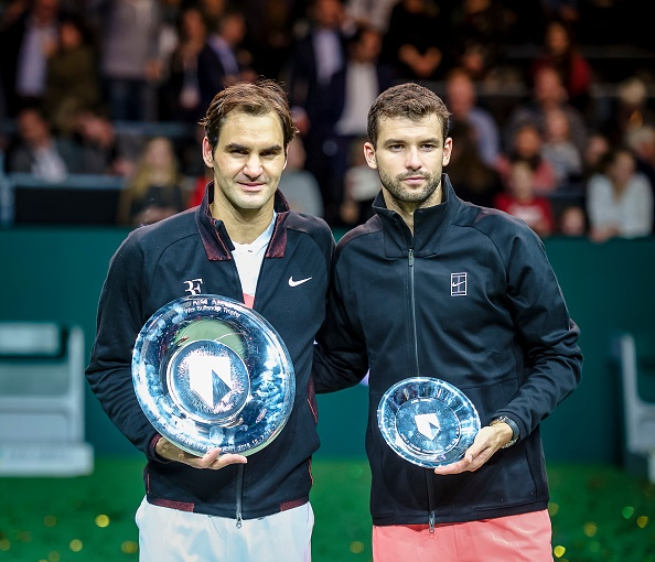 Federer vo dich Rotterdam Open mung ngoi so 1 the gioi hinh anh 6