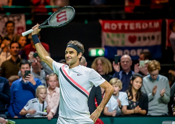 Federer vo dich Rotterdam Open mung ngoi so 1 the gioi hinh anh 5