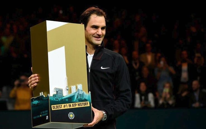 Federer vo dich Rotterdam Open mung ngoi so 1 the gioi hinh anh 7