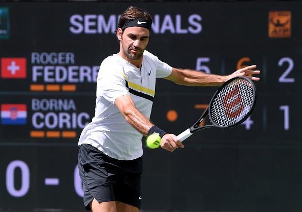 Federer xac lap ky luc, nguoc dong vao chung ket Indian Wells hinh anh 1