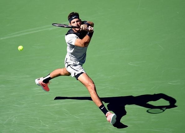 Federer xac lap ky luc, nguoc dong vao chung ket Indian Wells hinh anh 9