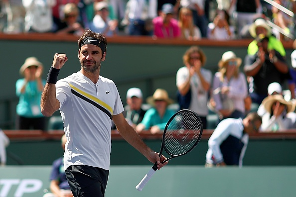 Federer xac lap ky luc, nguoc dong vao chung ket Indian Wells hinh anh 7